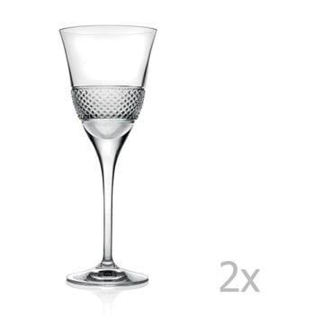 Set 2 pahare de vin RCR Cristalleria Italiana Giacomo de la RCR Cristalleria Italiana