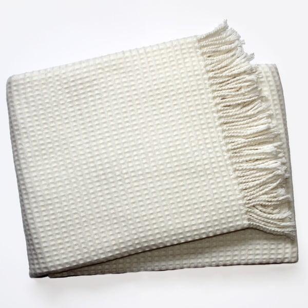 Koc Waffel Cream, 140x180 cm