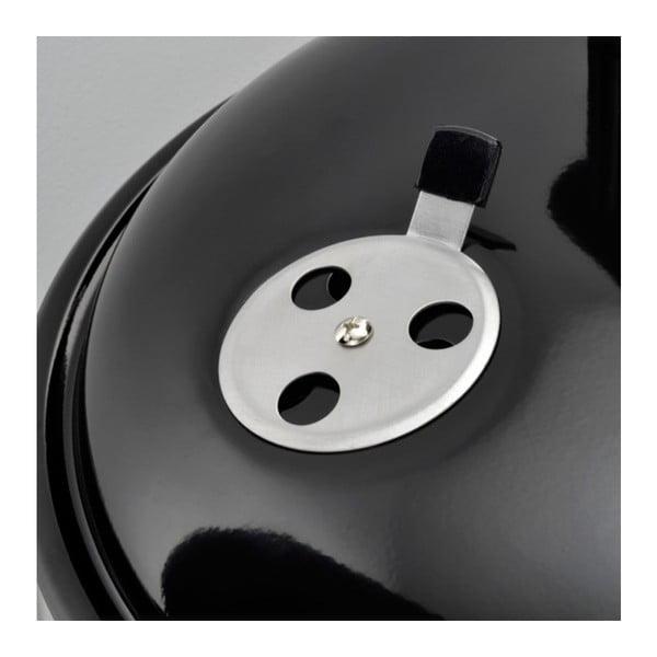 Černý přenosný gril s regulátorem přívodu vzduchu Jamie Oliver Adventurer BBQ