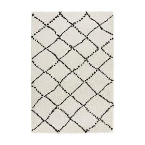 Černobílý koberec Mint Rugs Allure Ronno Black White, 120x170cm