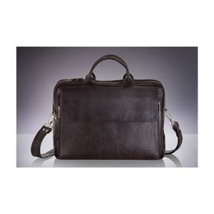Pánská kožená taška Solier SL30, černá