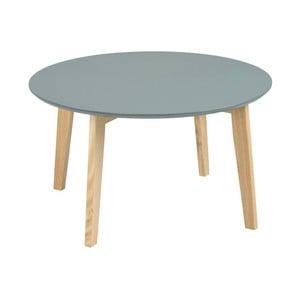 Šedý konferenční stolek Actona Molina, ⌀ 80 cm