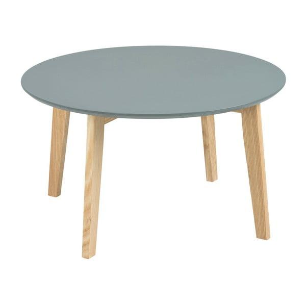 Szary stolik Actona Molina, ⌀ 80 cm