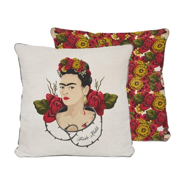 Polštář Madre Selva Frida Roses,45x45cm