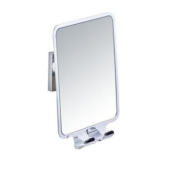 Oglindă și 2 cârlige, cu sistem de prindere Vacuum-Loc, până la 33kg de la Wenko