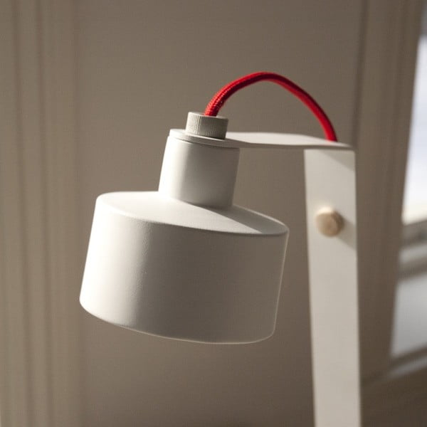 Stolní LED lampa Jazz white/red