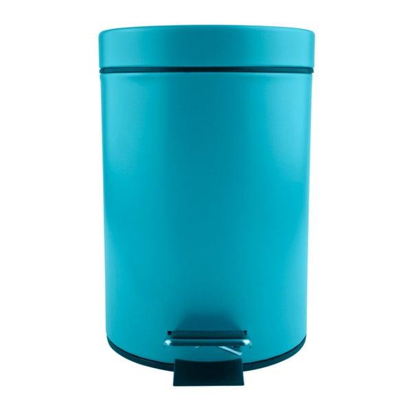 Modrý pedálový odpadkový koš Galzone