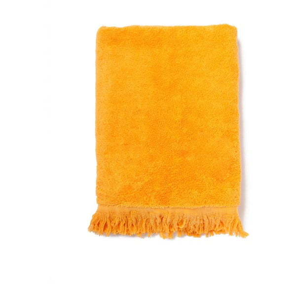 Sada 2 oranžových bavlněných osušek Casa Di Bassi Bath
