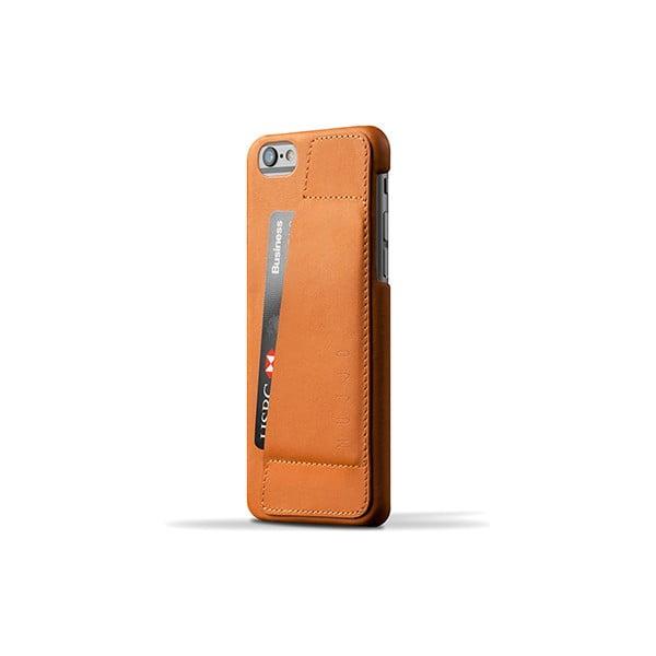 Peněženkový obal Mujjo na telefon iPhone 6 Tan