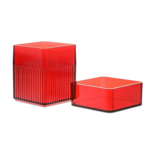 Krabička Kali s víčkem, červená
