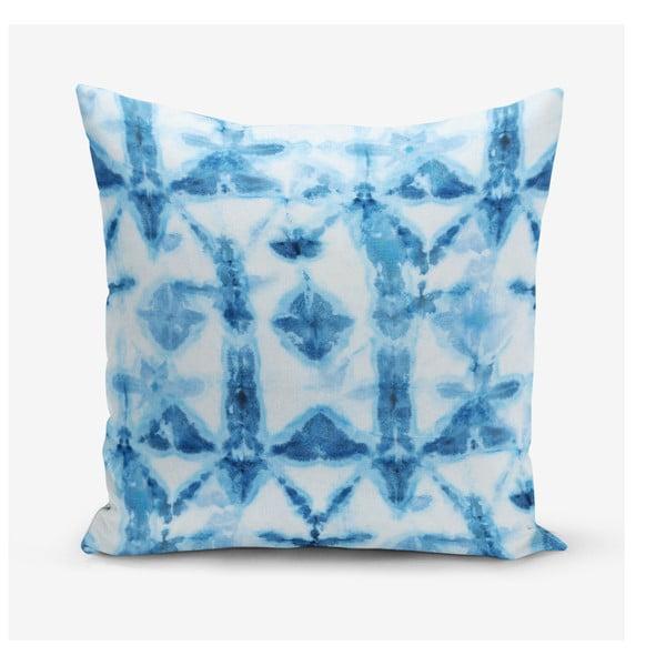 Povlak na polštář s příměsí bavlny Minimalist Cushion Covers Snowflake, 45 x 45 cm