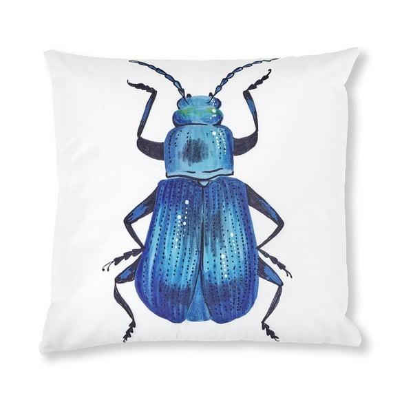 Biało-niebieska poszewka na poduszkę La Forma Jelly 45x45 cm