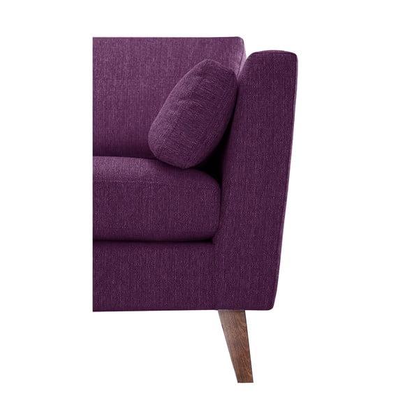 Švestkově fialové křeslo Jalouse Maison Elisa