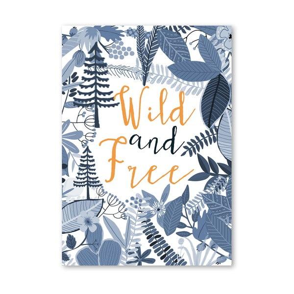 Plakát od Mia Charro - Wild