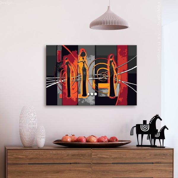 DIY set na tvorbu vlastního obrazu na plátně Artgeist African Women, 60x40 cm
