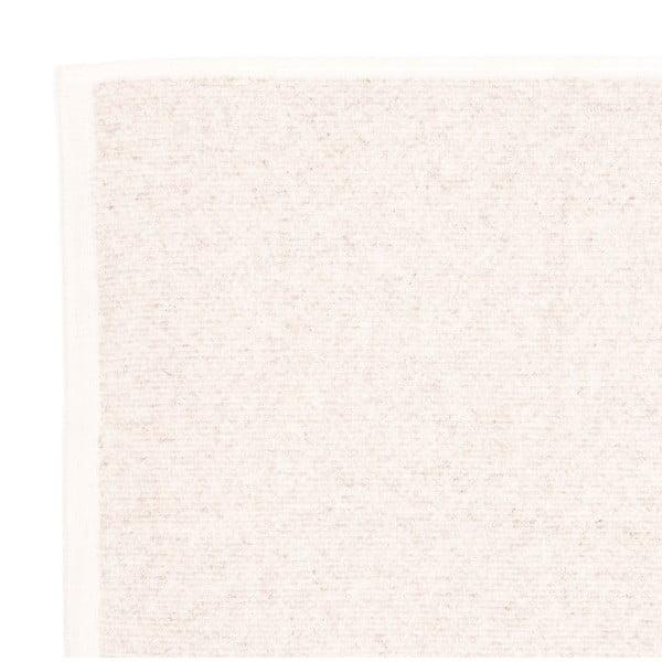 Sada 2 krémových froté osušek Casa Di Bassi Stripe, 68x160cm