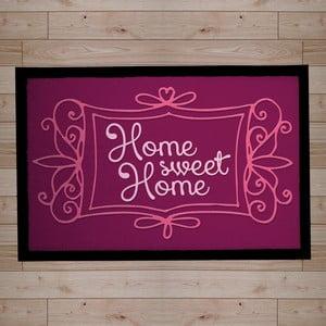 Rohožka Home Sweet Home Violet, 40x60 cm