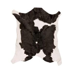 Blană de bovină Black Spotted, 80 x 70 cm, alb-negru