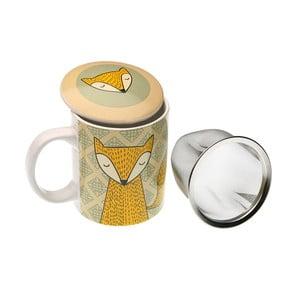 Cană cu sită pentru ceai Versa Fox, 3,5 dl