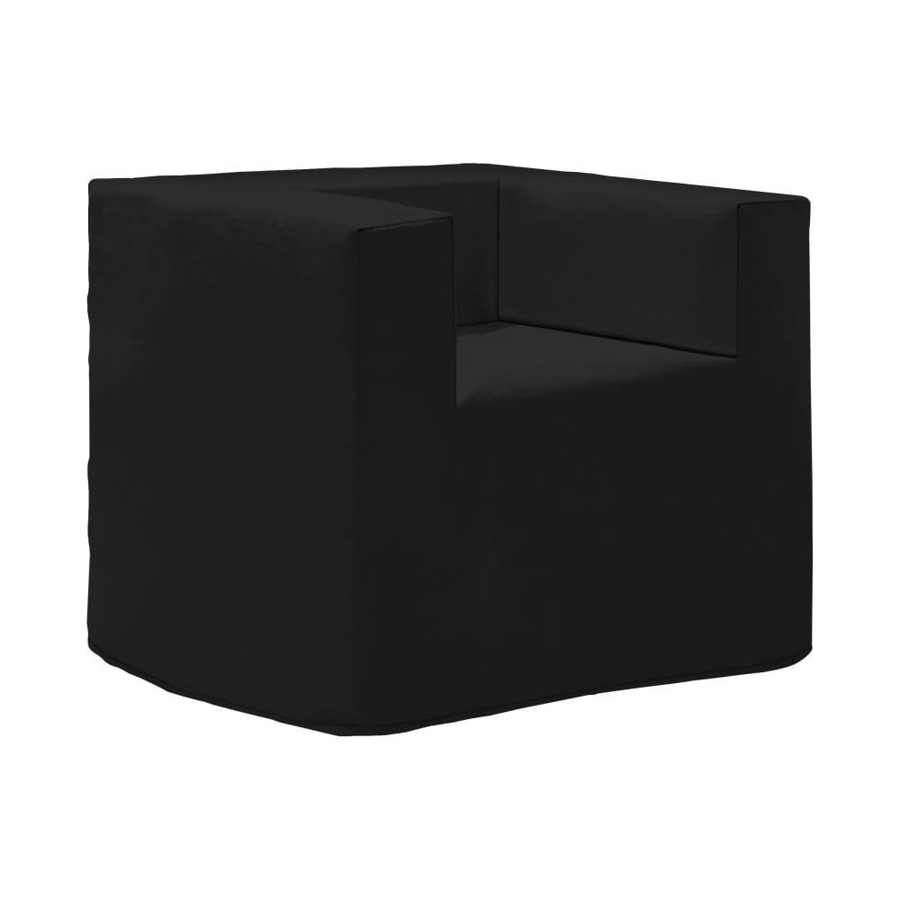 Černé variabilní křeslo/lůžko 13Casa Volution
