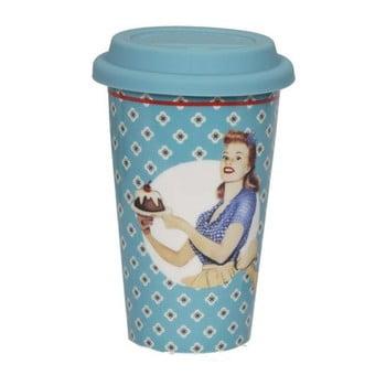 Cană din ceramică voiaj Antic Line Retro Bleu, albastru de la Antic Line