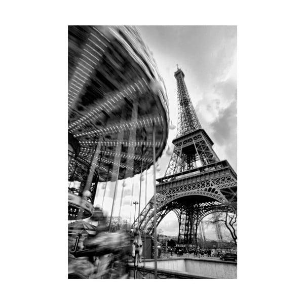 Fotoobraz Eiffelova věž, 90x60 cm