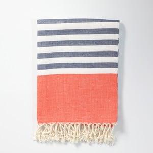 Hamam osuška z ručně tkané bavlny ZFK Marius, 170x100cm