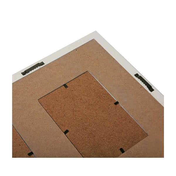 Šedý nástěnný rámeček na 3 fotografie Versa, vhodné na fotografie 10x15