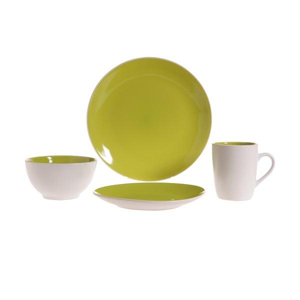 Sada nádobí Lucca Green, 16 ks