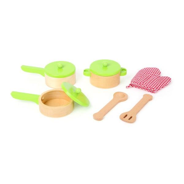 Set de jucărie pentru gătit Legler Kitchen