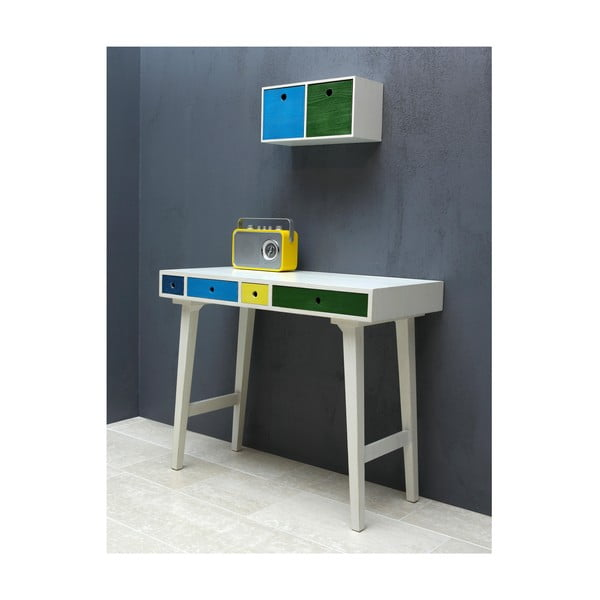 Pracovní stůl Octopus, modrý