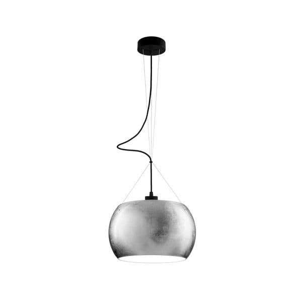Světlo MOMO, silver opal/black
