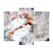 3dílný obraz Ballet