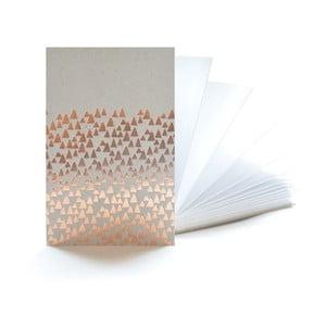 Měděný zápisník Mon Petit Art Accordeon