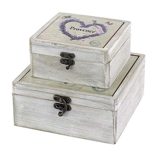 Set krabiček Provence, 2 ks