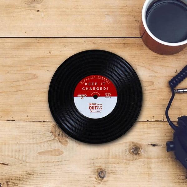 Încărcător wireless pentru telefon Gift Republic Vinyl