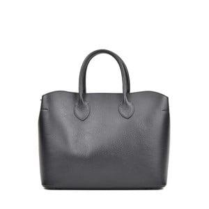 Černá kožená kabelka Isabella Rhea Manuel