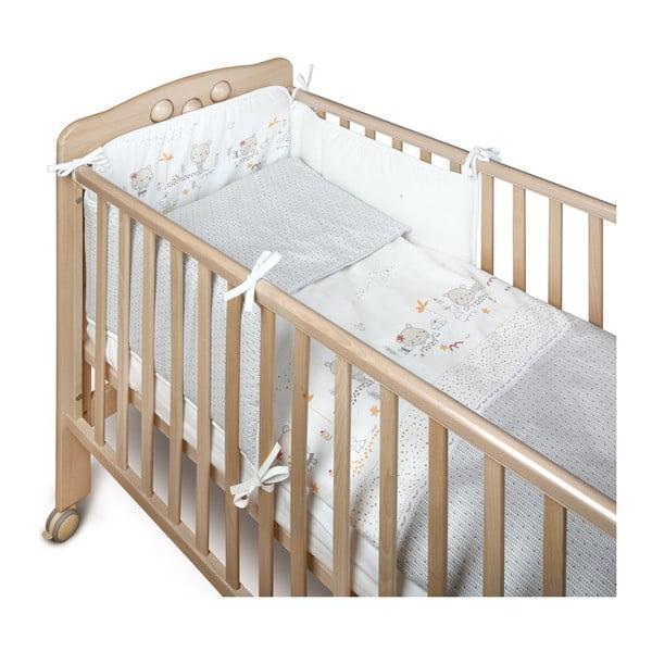 Pikowany ochraniacz do łóżeczka dziecięcego YappyKids Little Bear