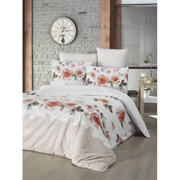 Lenjerie de pat cu husă de saltea Isabella,160 x 220 cm, portocaliu