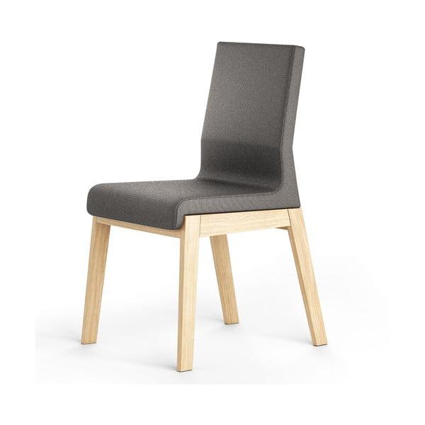 Černá židle z dubového dřeva Absynth Kyla