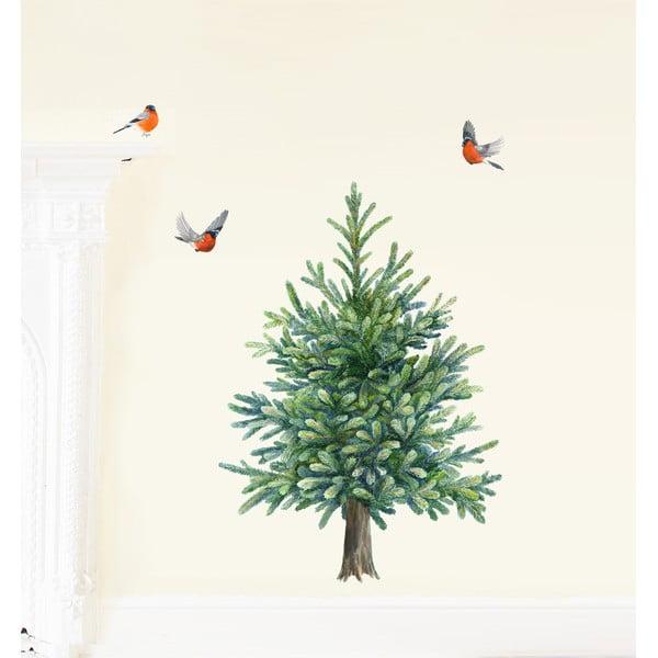 Znovu snímatelná samolepka Christmas Tree S