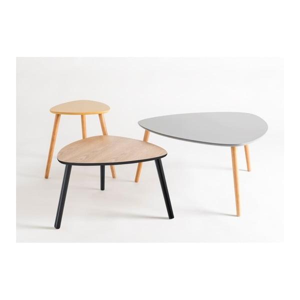 Žlutý odkládací stolek Nomad
