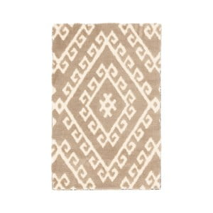 Covor Ixia Aztec, 60 x 90 cm, crem