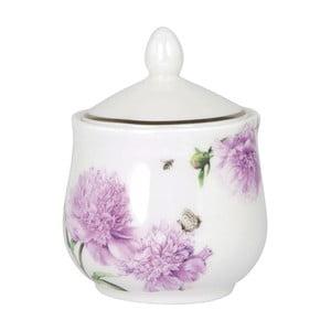 Cukřenka z kostního porcelánu Ashdene Pink Peonies