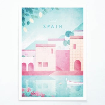 Poster Travelposter Spain, A3 imagine