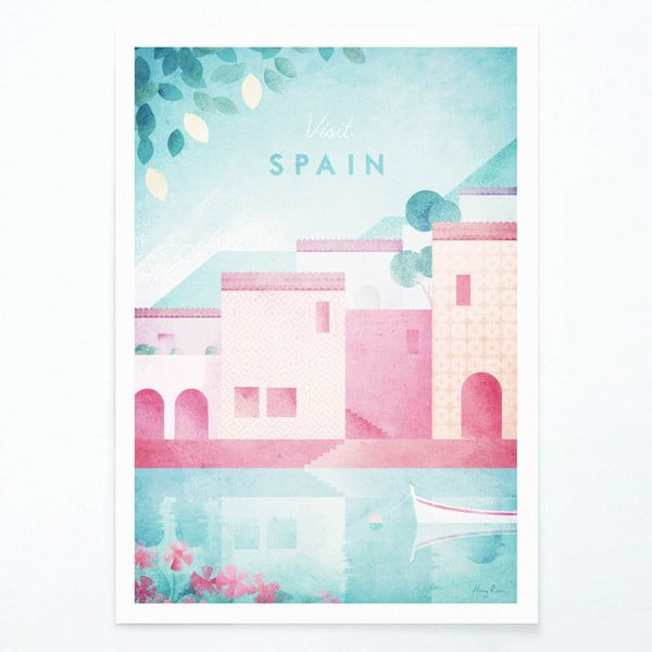 Poster Travelposter Spain, A3