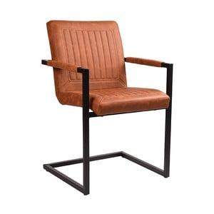 Hnědá jídelní židle LABEL51 Rossi