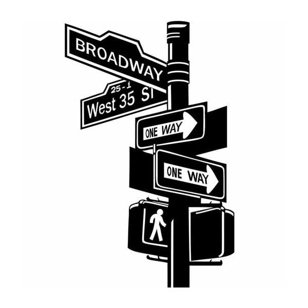 Samolepka Ambiance Broadway