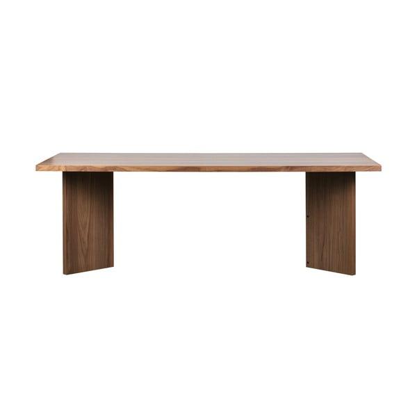 Angle étkezőasztal diófa furnérral - vtwonen