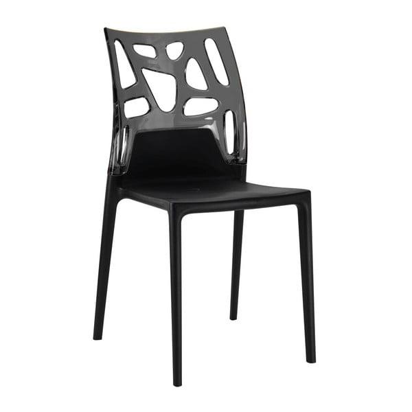 Židle Ego Rock, black/black